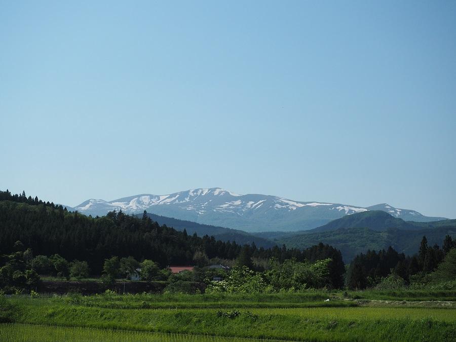 栗駒山の5月の残雪の風景を私の好きなスポットから撮影!