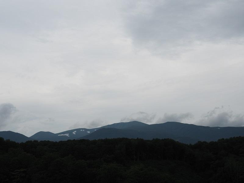 7月の栗駒山の風景写真