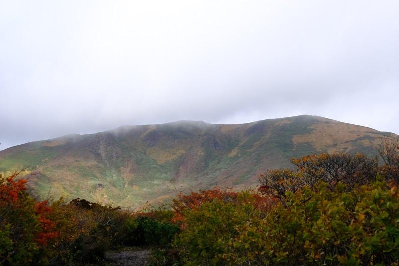 栗駒山の紅葉2019の風景写真